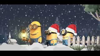 Santa Claus Christmas with Minions    YouTube 720p