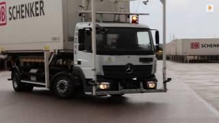 Autonomer Lkw auf Logistikhöfen: Wechselbrücken werden autonom bewegt