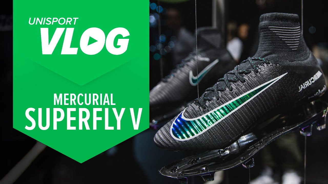 Nike Mercurial Superfly V: First look I Worn by Cristiano Ronaldo - YouTube