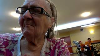 Visiting Mom -  October 25, 2019  - She had a fall yesterday