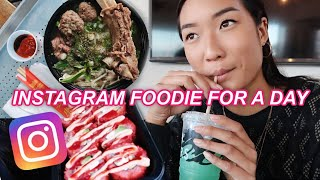Being An IG Foodie for 24 Hours *i ate a lot*