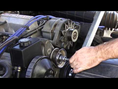 how to use a harmonic puller vx commodore