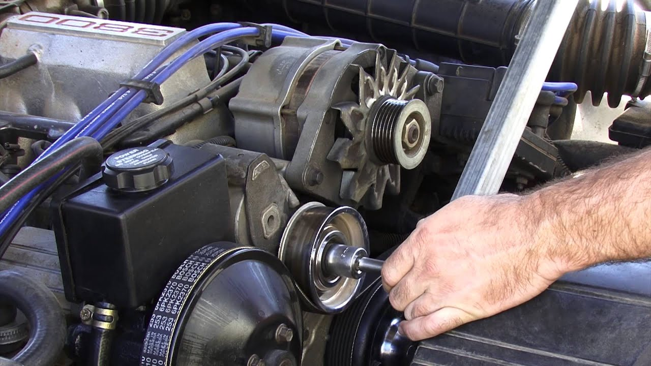 how to tighten drive belt