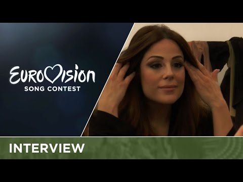 """Ira Losco (Malta) """"I wanted to return to Eurovision with a six-pack, but..."""""""