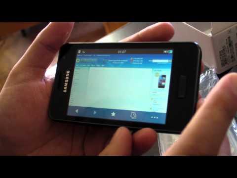 Samsung Wave M S7250 review HD ( in ROmana ) - www.TelefonulTau.eu -