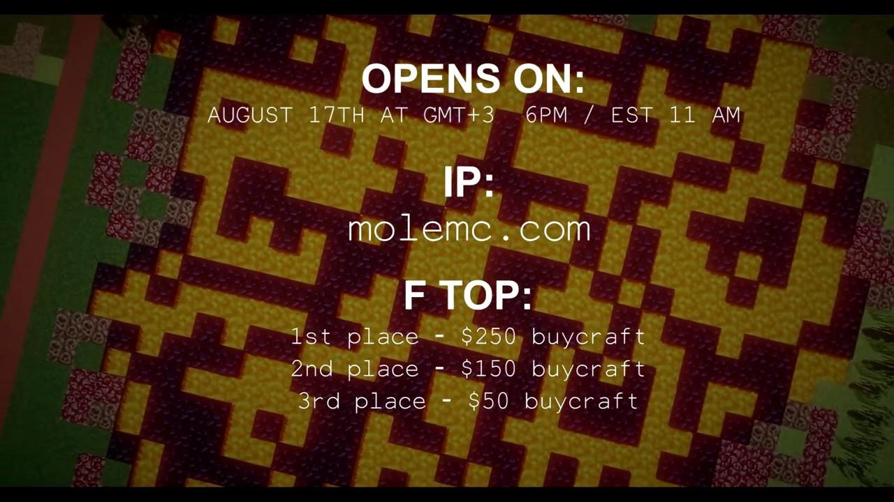 MoleMC Network 1 8 8 Minecraft Server