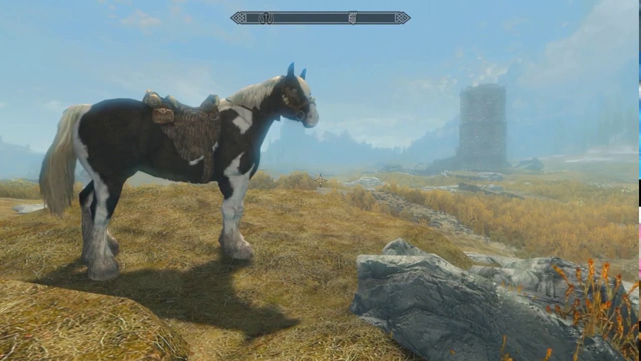 PS4 SkyrimSE: Call Your Horse BETA