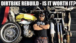 Dirt bike rebuild, complete teardown - RMZ 450 build part2