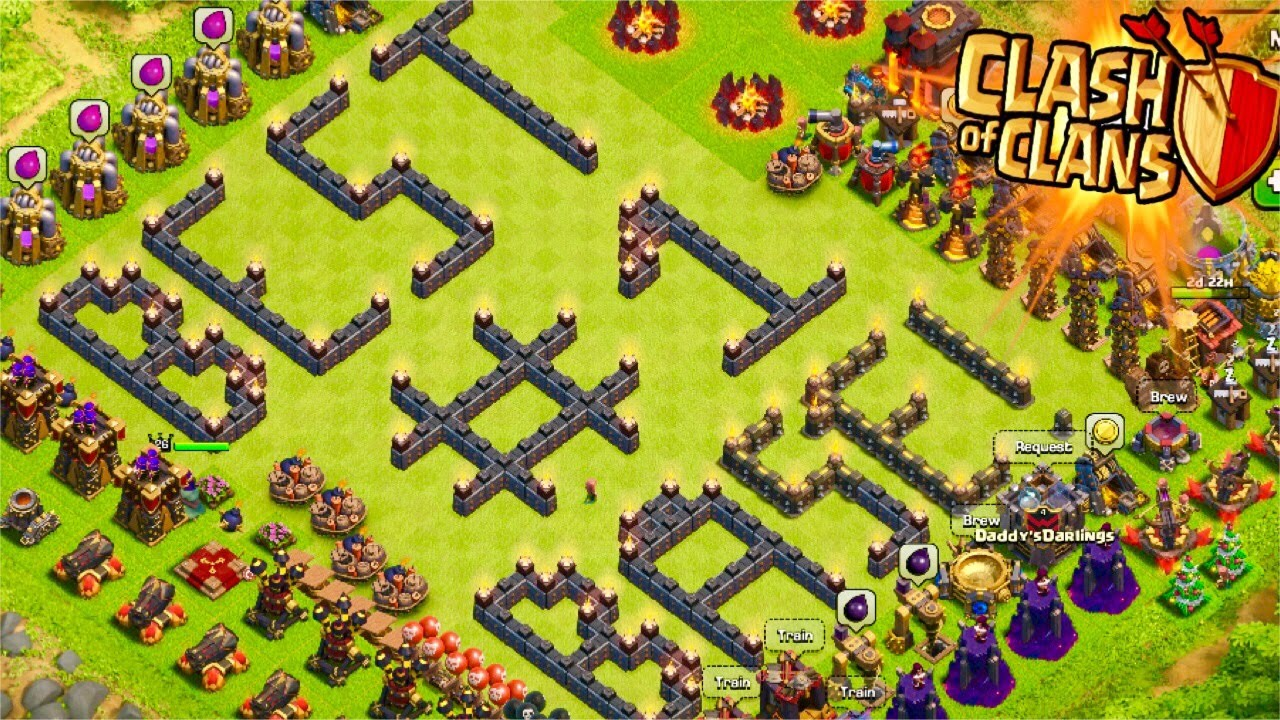 Clash of clans quot never lose quot undefeated base replays amp proof best