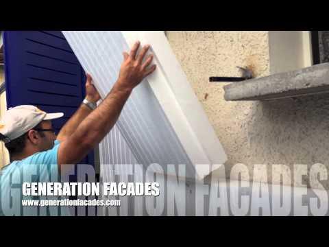Pose ITE(isolation par l'éxterieur) par génération façades