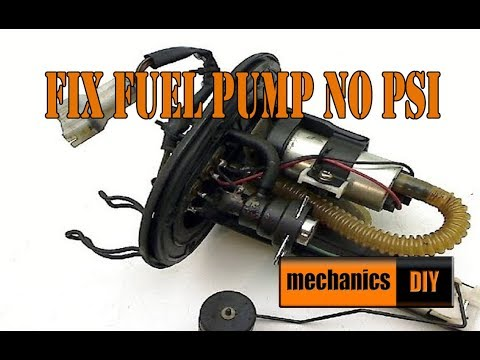 HOW TO FIX A FUEL PUMP ON   KTM Duke 125 200