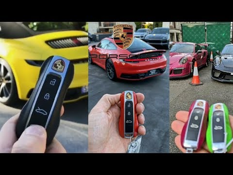 Porsche Concept Key Car and Interior & Exterior Review by Nawab Saab Official