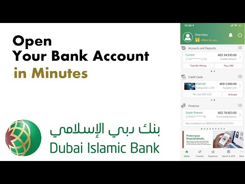 How To Open Online Banking Account Dib Bank Digital Account Hindi Urdu Youtube