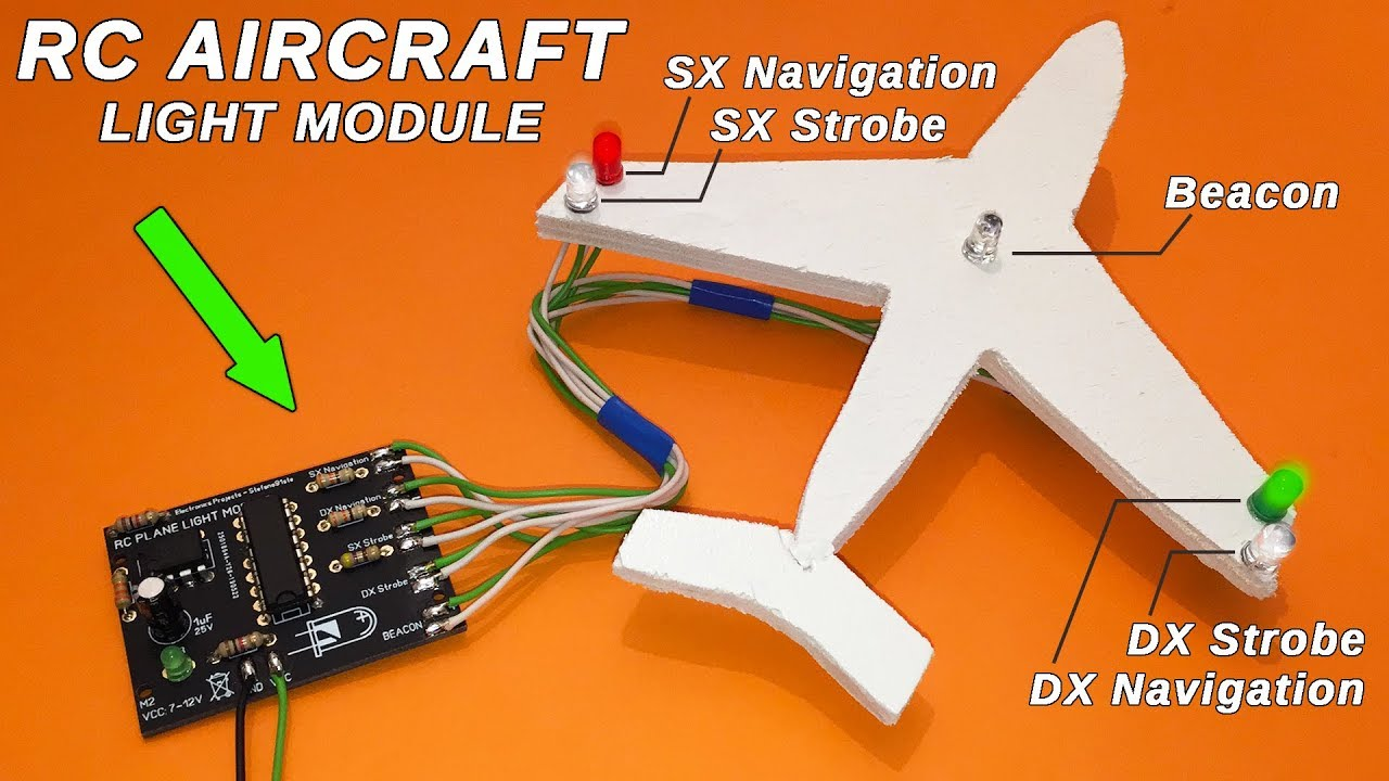 Rc Plane Microcontroller