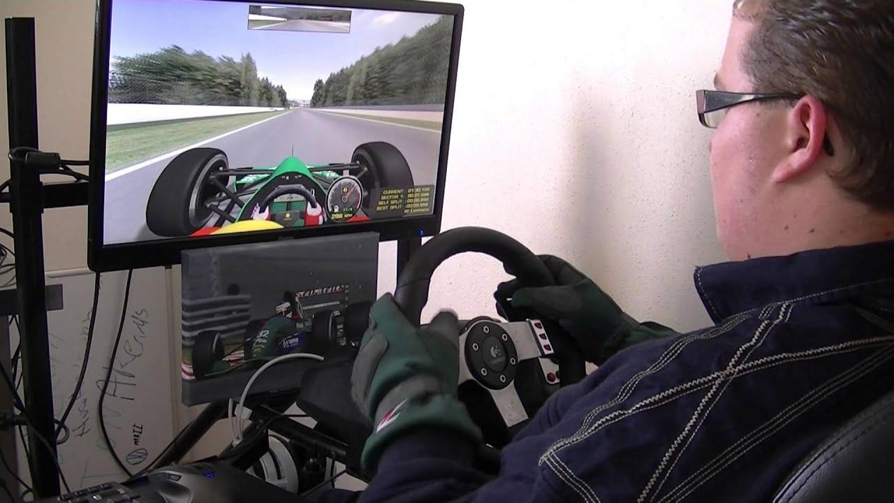 [G27] GT Omega Pro Racing Cockpit