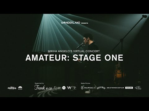 Mikha Angelo Virtual Concert - Amateur : Stage One