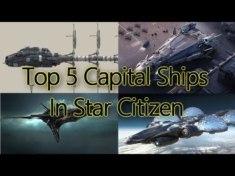 Inforunners Podcast Episode 23: Top 5 Capital Ships in Star Citizen