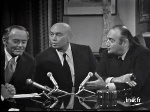 """Yul Brynner, Henry Fonda et Henri Verneuil à propos du """"Serpent"""""""