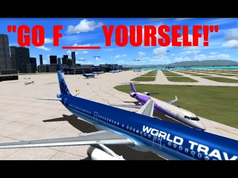 FSX Multiplayer HILARIOUS Argument