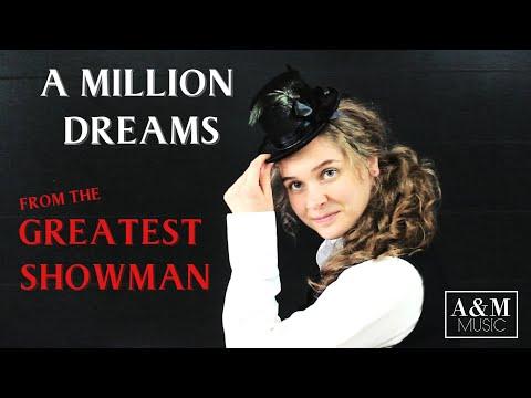A MILLION DREAMS THE GREATEST SHOWMAN FEMALE COVER (Anita and Melannie Music)