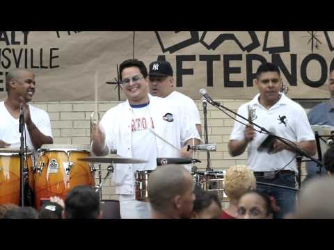 Tito Puente Jr. in Brooklyn New York July 2012