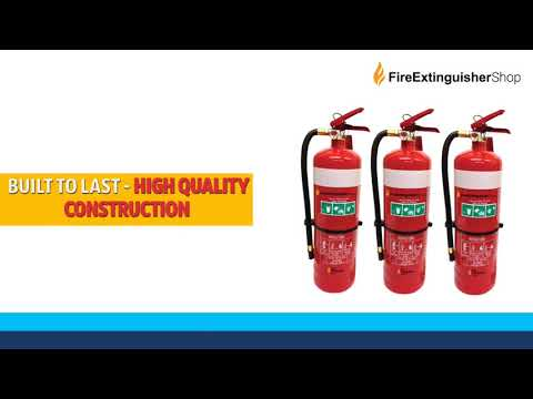 4.5kg Dry Chemical Powder fire extinguishers