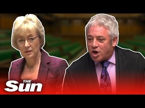 Bercow vs Leadsom: