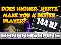 "Gaming - Does Higher ""Hertz"" Make You Better?"