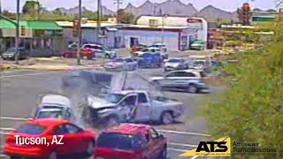 Worst Red Light Running Crashes of 2015
