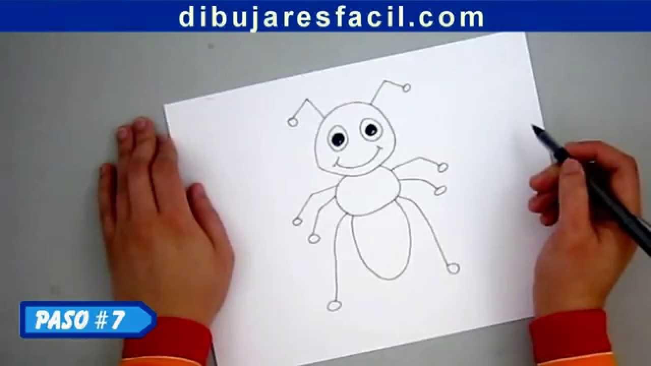 Episodio 2- Cómo dibujar la caricatura de una hormiga ...