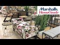 MARSHALLS HOME GOODS FURNITURE CHAIRS TABLES HOME DECOR SHOP WITH ME SHOPPING STORE WALK THROUGH 4K