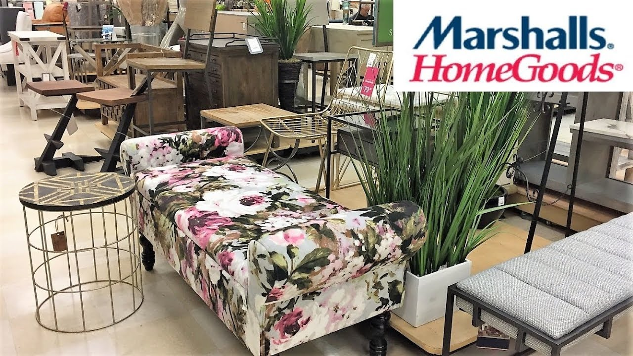 Marshalls Home Goods Furniture Chairs Tables Home Decor Shop With Me