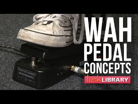 Wah Pedal Guitar Lesson With Michael Casswell | Licklibrary