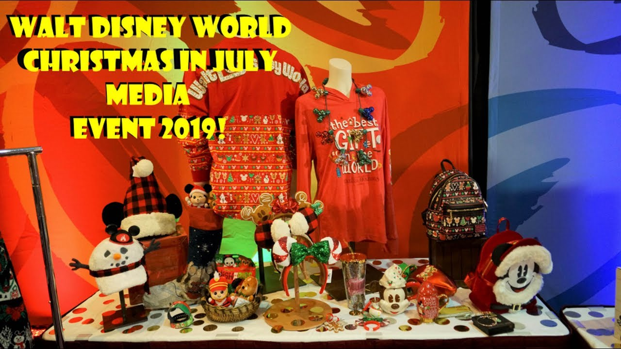 Christmas In July Disney World.Walt Disney World Christmas In July Media Event 2019