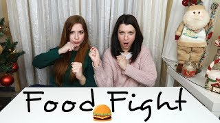 Burger FOOD FIGHT with Miss Madden!