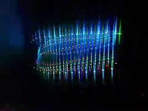 Audio Visualisation Algorithm V2.x  ( 2012-2013 )