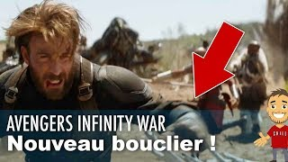 Captain America a un nouveau bouclier dans le trailer !