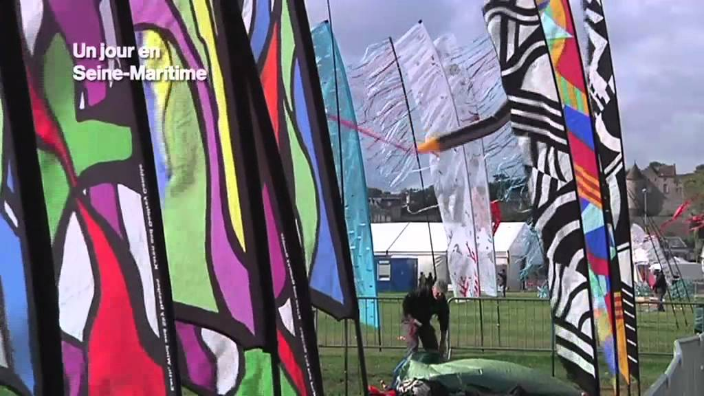 Souvent Festival international Cerf volant Dieppe - YouTube KA18