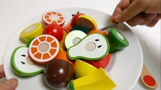 Wooden Toy Cutting - How To Make Wooden Fruit Salad