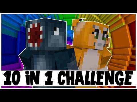 10 IN 1 CHALLENGE! - THE DROPPER! [3] - Minecraft Custom Map W/Stampy!