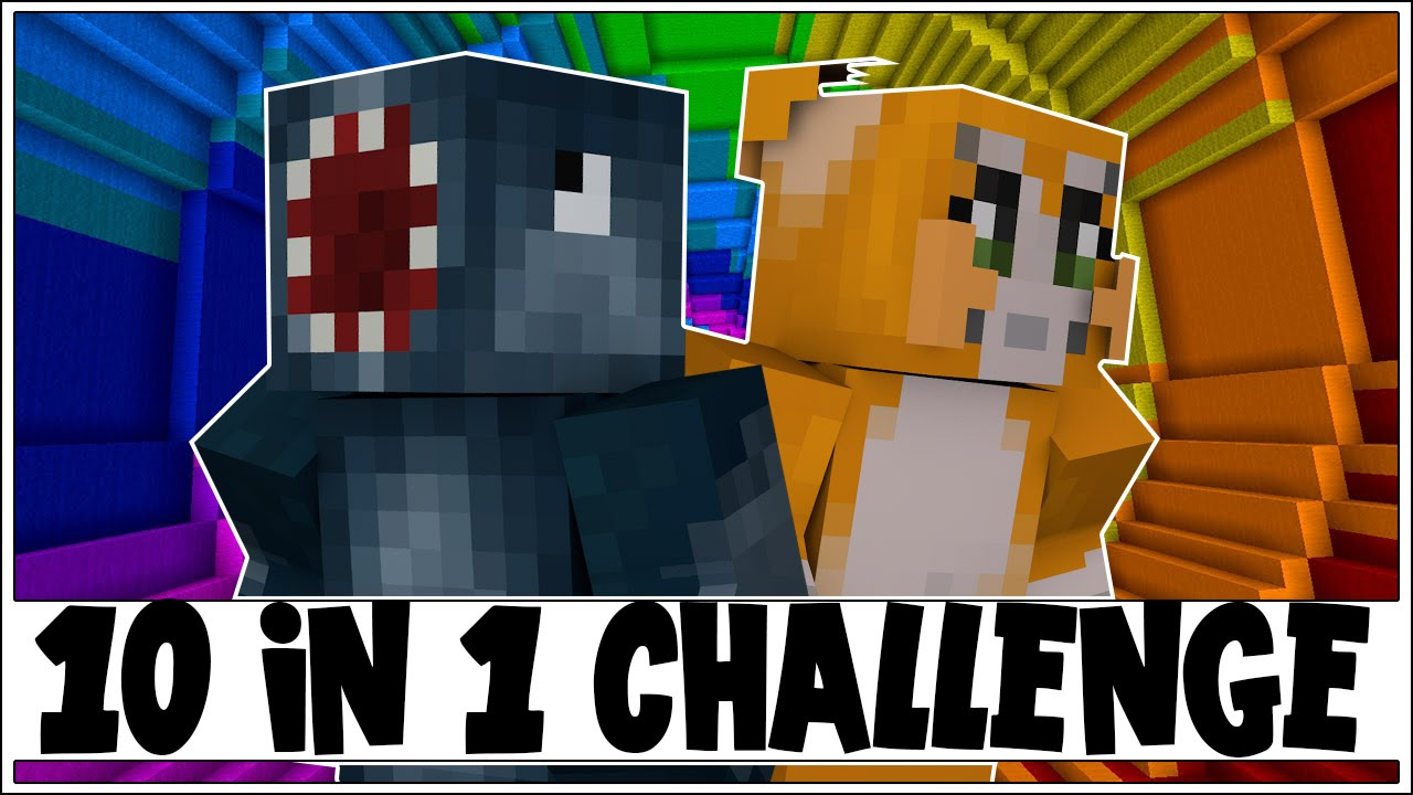 10 In 1 Challenge The Dropper 3 Minecraft Custom Map W