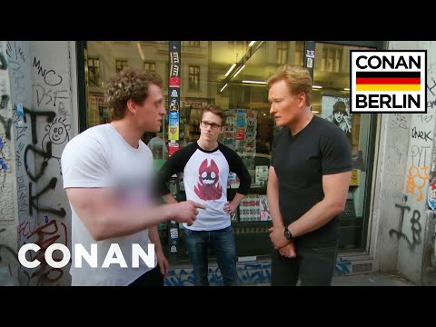 Conan Gets An In-Person Fan Correction From A German Super Fan  - CONAN on TBS