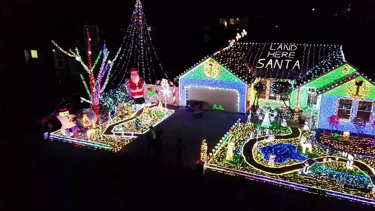 Maple Valley Christmas lights 2014 - YouTube
