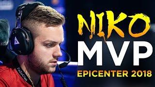 CS:GO - Best of NiKo from EPICENTER 2018 (MVP)