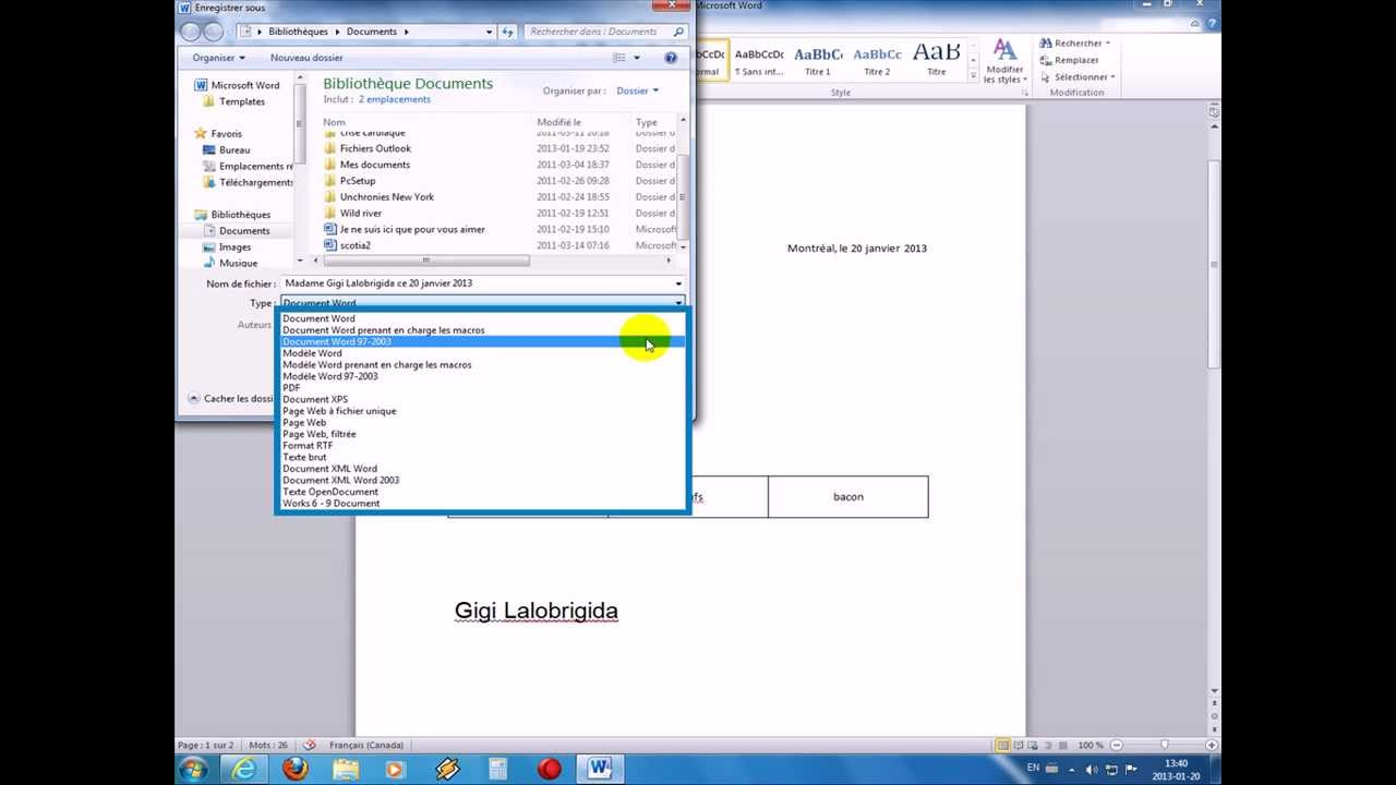 Modele de lettre word 2007 - Ouvrir un document word avec open office ...
