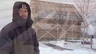 видео Строим дом в русском стиле