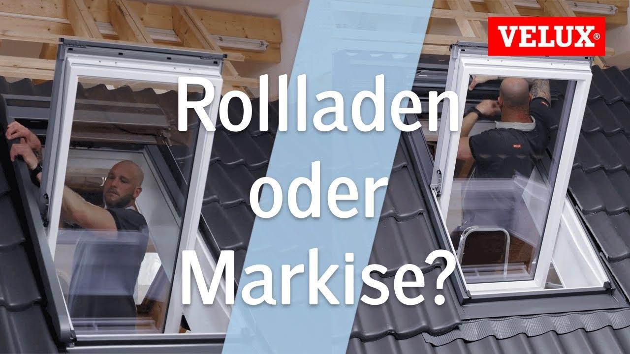 Kundschaft zuerst 100% original reich und großartig Rollladen oder Hitzeschutz-Markise?   VELUX INTEGRA®   Sonnen - und  Hitzeschutz