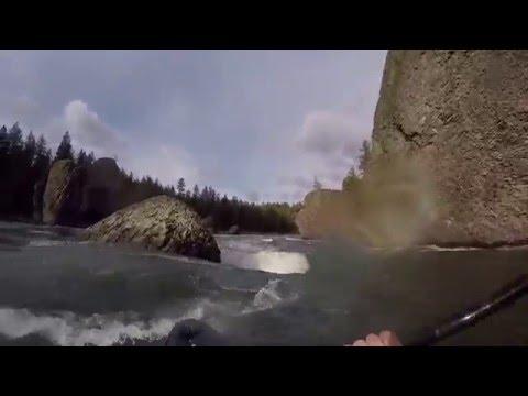 Lower Spokane River Whitewater Kayaking
