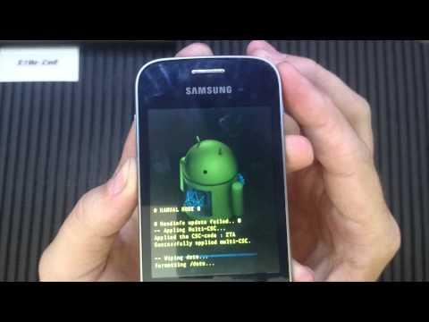 Hard Reset Pocket 2 G110 Samsung Galaxy Pocket 2