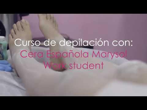 Curso De Depilación En Cera Española Marysol Youtube